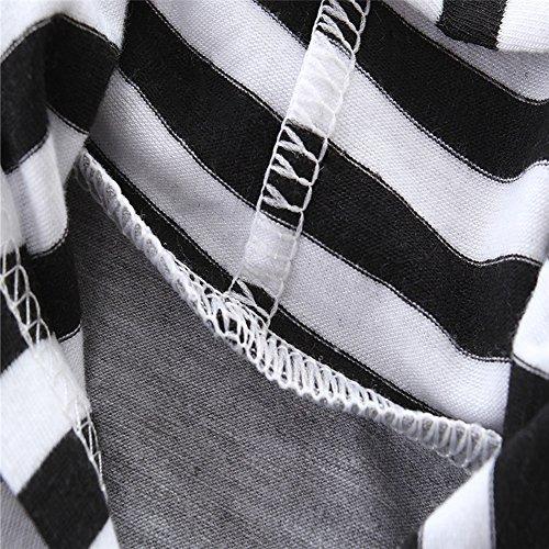 28f31e54b661 KIDSA 0-3T Baby Little Boys Sleeveless Striped Vest Hoodies + Shorts  Outfits Set