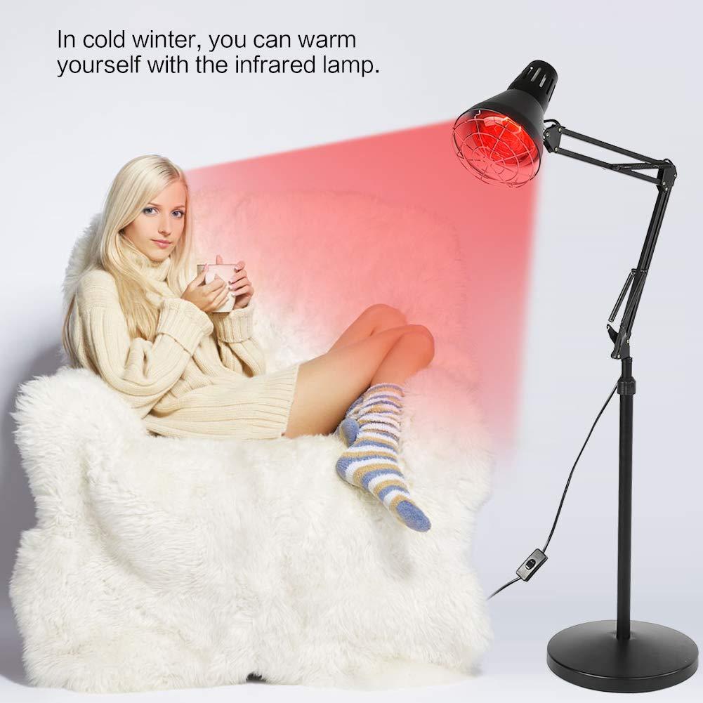 L/ámpara Infrarroja de Control de Temperatura Vertical L/ámpara de Pie de Terapia de Calefacci/ón Temperatura Constante