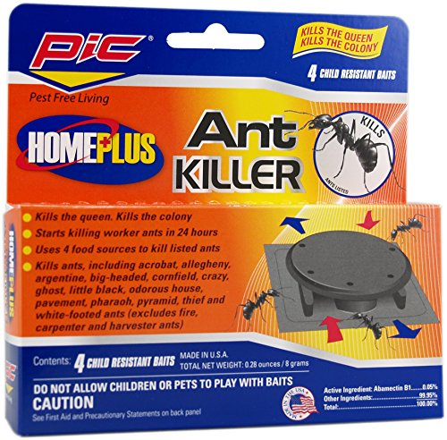 PIC Homeplus Ant Killer Bait Stations, 4Count
