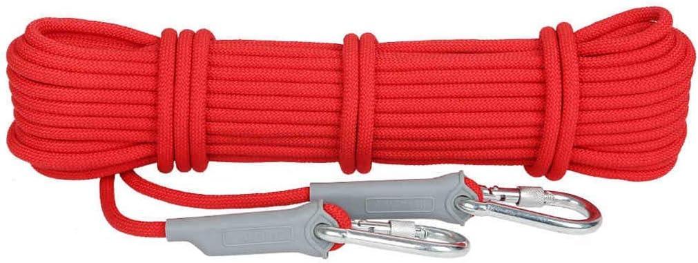 ロープアウトドアクライミングロープ、12 / 9.5mm安全ロープクライミングロープロープクライミングロープナイロンロープ脱出装置、40m / 30m / 20m / 10m(サイズ:9.5mm-30m)  9.5mm-30m
