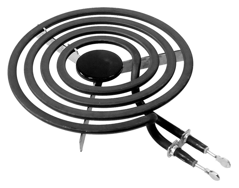 "ClimaTek Upgraded 6"" Stove Range Oven Burner fits GE Hotpoint WB30X24401 AP5983743 WB30T10078"
