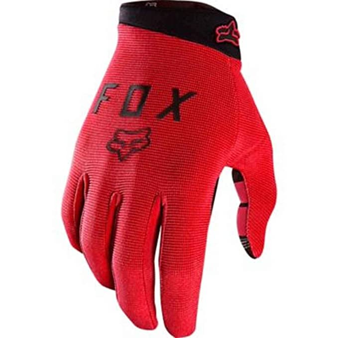 Fox Head Mens Ranger Bike Safety BMX MTB Gloves (Cardinal, Small)