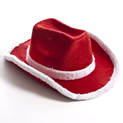 Image Unavailable. Image not available for. Color  Fun Express Santa Cowboy  Hat 97a76c747ee