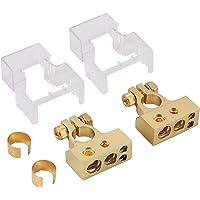 AUTOUTLET 2/4/8/10 Calibrador AWG Positivo y Negativo Terminales