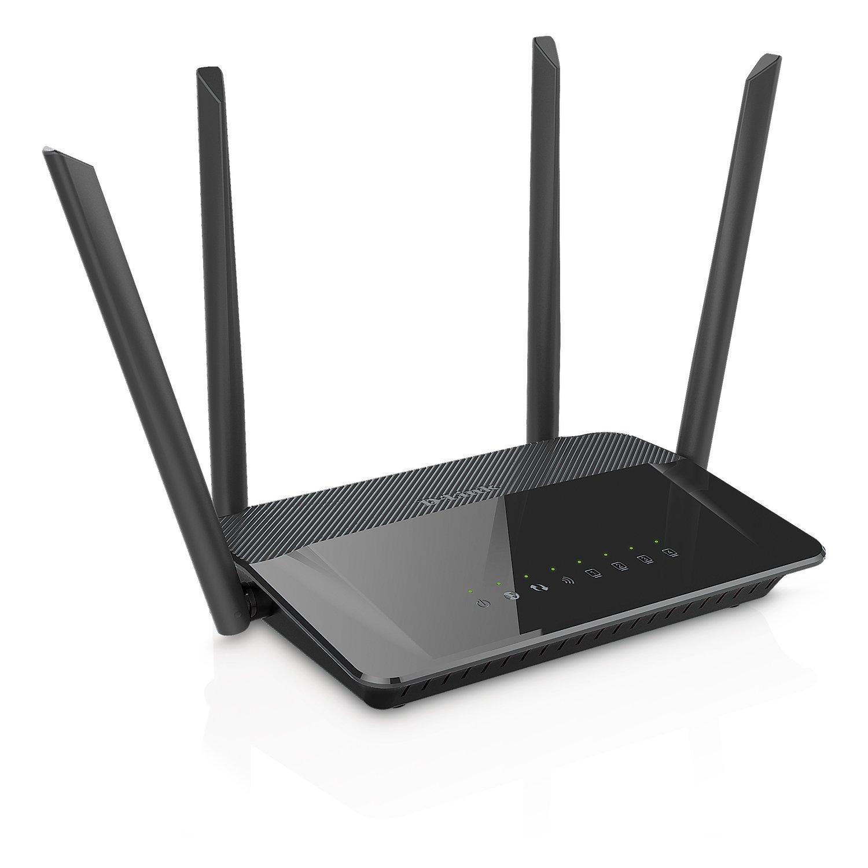 D-Link DIR-842 - Router WiFi AC 1200 Mbps (802.11ac, 4 Puertos Gigabit Ethernet RJ-45 10/100/1000 Mbps, 1 Puerto WAN Gigabit,...