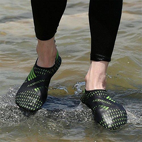 Lanma Barfota Snabbtorkande Vattensportskor Hud Aqua Strumpor För Simma Strand Pool Surf Yoga Män Kvinnor Barn Svart