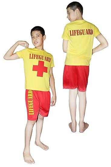 Islander Fashions Boys Rettungsschwimmer Miami Beach Life Saver Kost ...