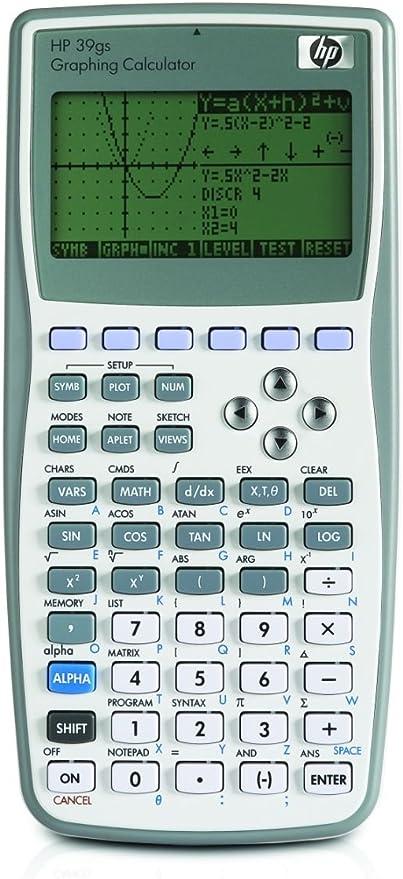 Original Hp39gii Graphing Scientific Calculator Calculation Tool Full Function