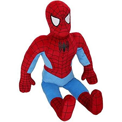 "Marvel Spiderman Plush Snuggle Pillow Buddy - 24"": Home & Kitchen"