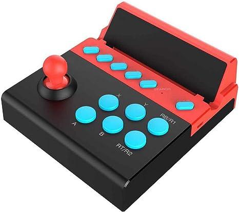 Bluetooth 4.0 Arcade Fighting Joystick Controller Tableta Smart TV Android IOS Mobile: Amazon.es: Instrumentos musicales