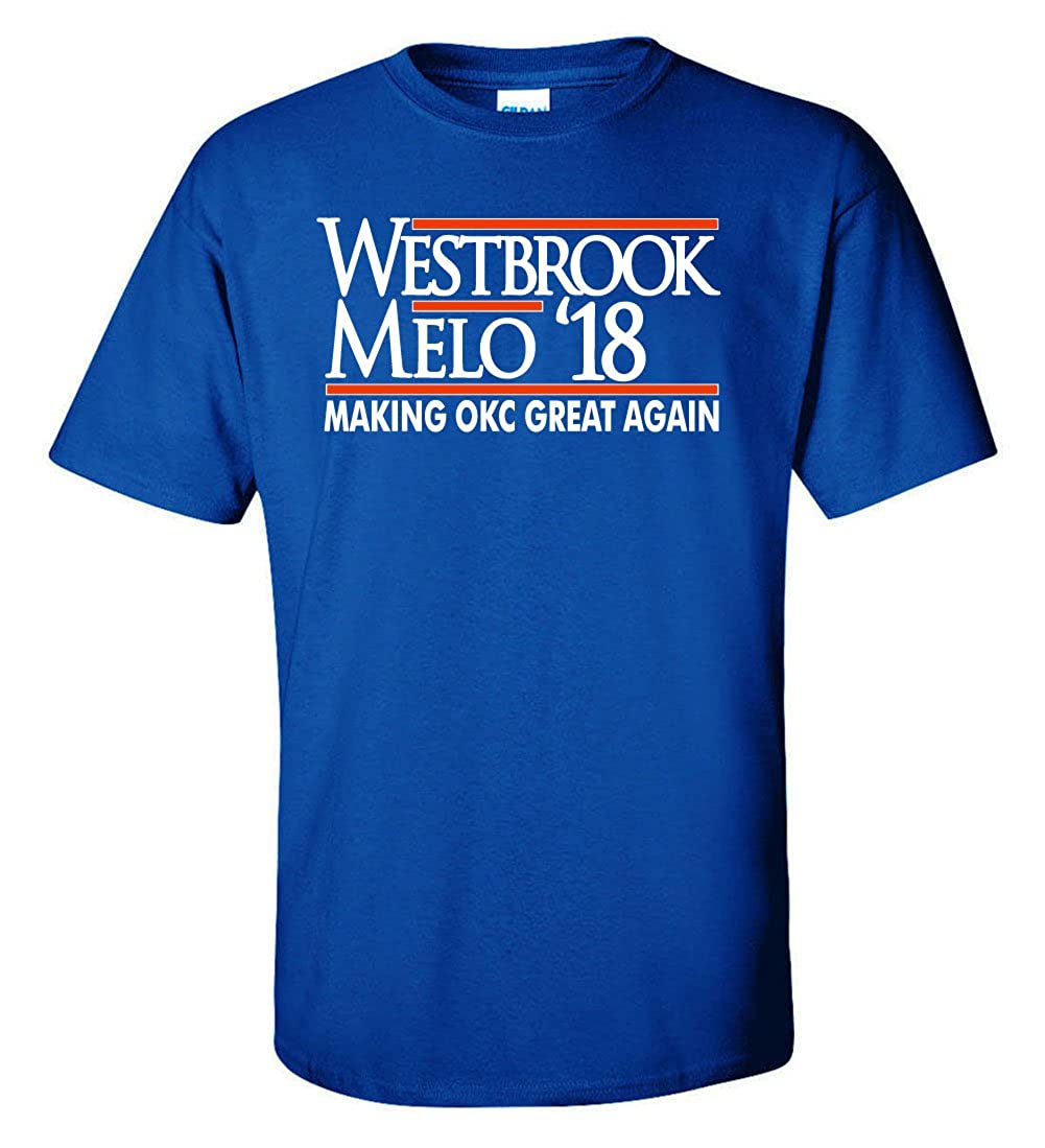 The Silo Blue Oklahoma City Westbrook Melo Westbrook 18 T-Shirt