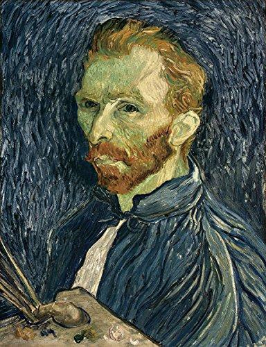 Quality Prints - Laminated 20x27 Poster Self-Portrait 1889 by Vincent Van Gogh