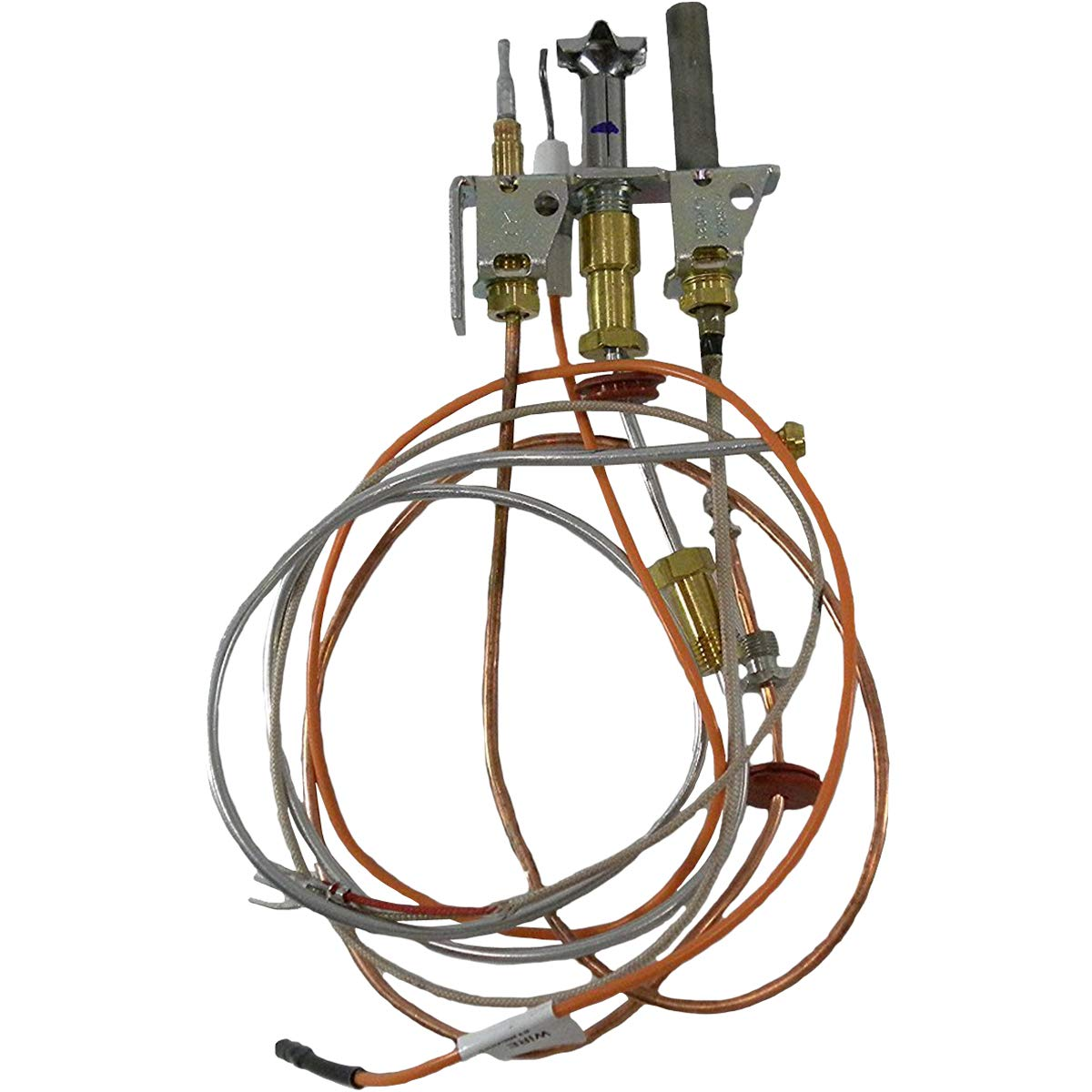 Empire Direct Vent Fireplace Natural Gas Pilot Assembly with Thermopile & Thermocouple R5143 by Empire Comfort Systems