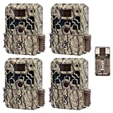 Browning Trail Cameras Strike Force Extreme 16 MP Game Cameras (4x) and Focus USB Reader