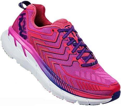 HOKA – Zapatillas Running Clifton 4 Mujer, Rose, 38: Amazon.es ...
