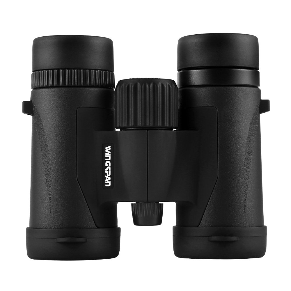 Wingspan Optics SpectatorPro 8X32 - Compact Waterproof Bird Watching Binoculars. Pocket-Size. Waterproof. Lightweight. Bright and Clear. For Bird Watching, Hiking, Watching Sports Games and Concerts. by Wingspan Optics
