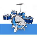 08d6d55968752 Los niños Drum Set Tambores Percussion juguetes Puzzle simulación con  asiento