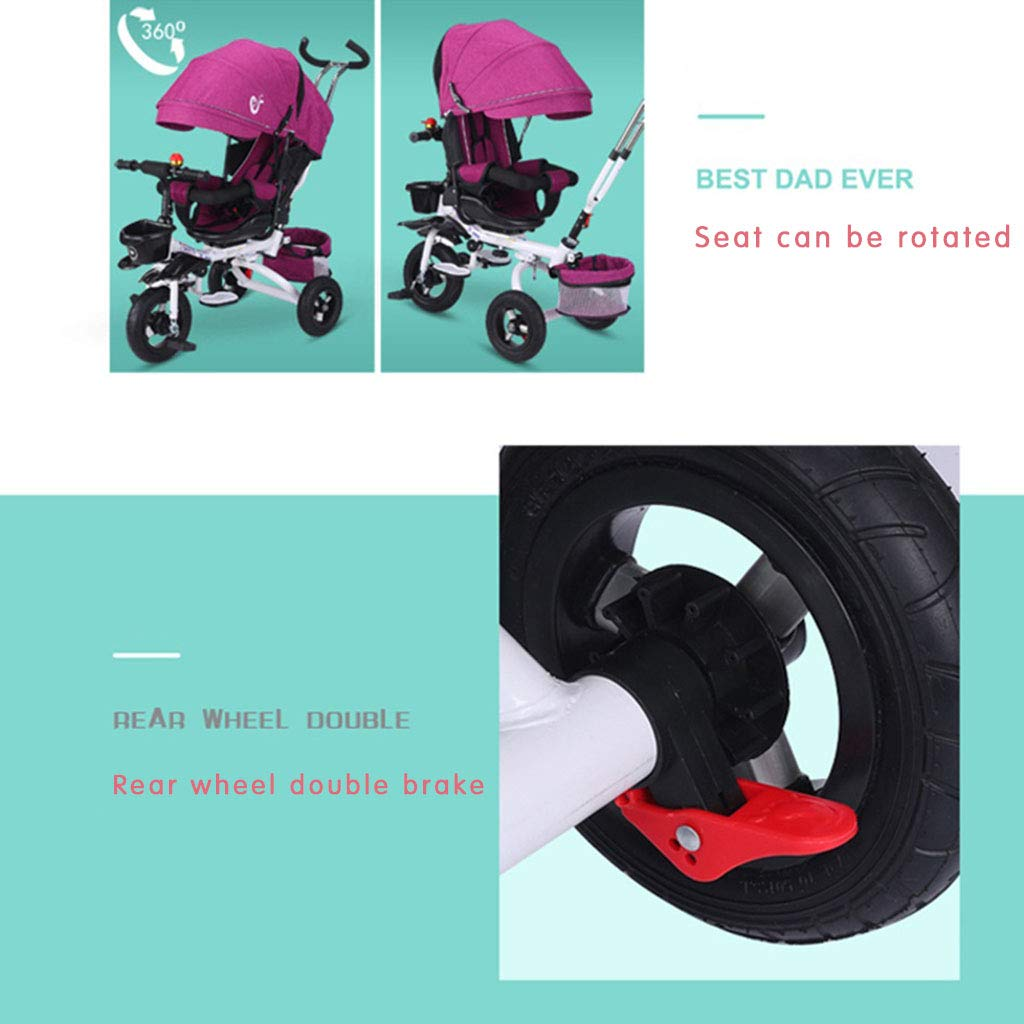4 In 1 Child 3 Wheeler Bike Foldable Children S Tricycle