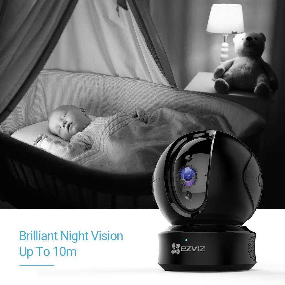 Vision Nocturne Caméra Dôme IP sans Fil Audio Bidirectionnel Suivi