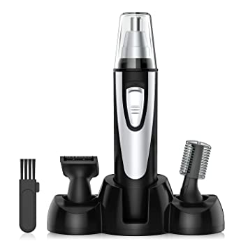 nose hair trimmer bestope 3 in 1 men s grooming kit with high