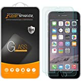 [2-Pack] Supershieldz for iPhone 6S Plus / iPhone 6 Plus Tempered Glass Screen Protector, [3D Touch Compatible] Anti-Scratch, Anti-Fingerprint, Bubble Free, Lifetime Replacement Warranty