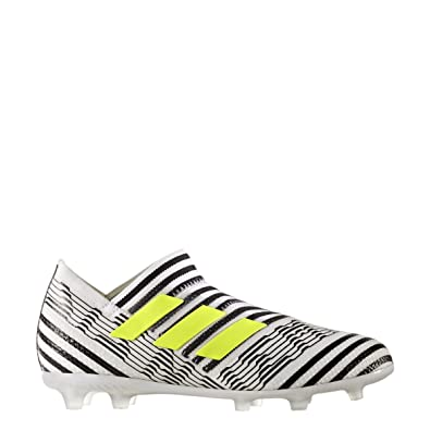 3a33480a9158 adidas Nemeziz 17+ 360AGILITY Youth Firm Ground Cleats  FTWWHT  (4)