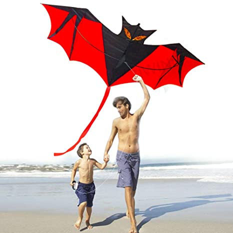 Amazon Kites For Kids Adultskite Kites Large Bat For The Beach