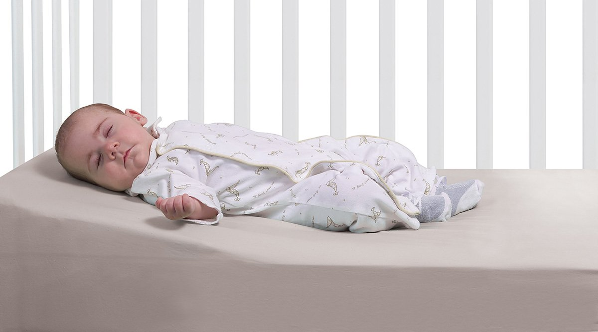 Amazon DexBaby Safe Lift Universal Crib Wedge And Sleep For Baby Mattress Infant Positioners
