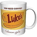 Gilmore Girls Luke's Diner You Need Coffee Comedy Drama TV Television Show Ceramic Gift Coffee (Tea, Cocoa) Mug, 11 Ounce