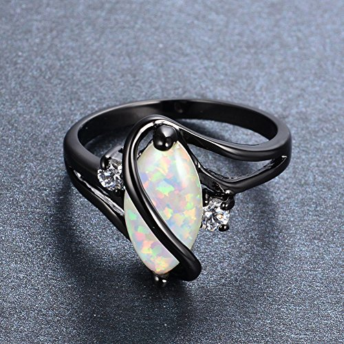 Bamos-Jewelry-Big-Opal-Women-Rings-Wedding-Engagement-White-Opal-Black-Gold-Party-Rings-For-Her