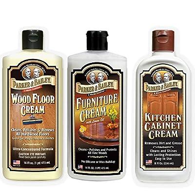 Parker and Bailey Bundle- Wood Floor Cream, Furniture Cream & Kitchen Cabinet Cream