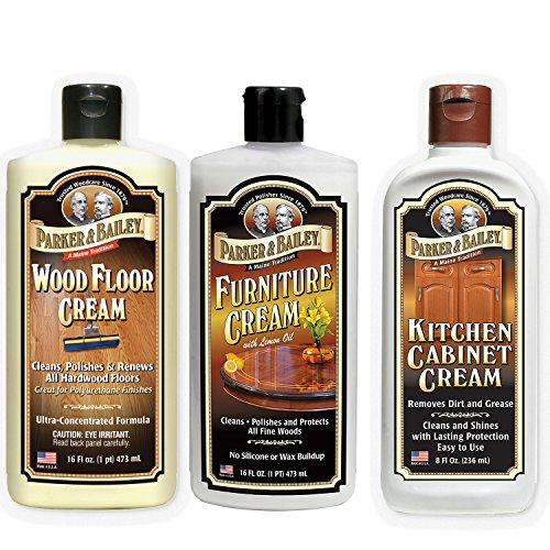 Amish Kitchen Cabinets (Parker and Bailey Combo- Wood Floor Cream, Furniture Cream & Kitchen Cabinet Cream)