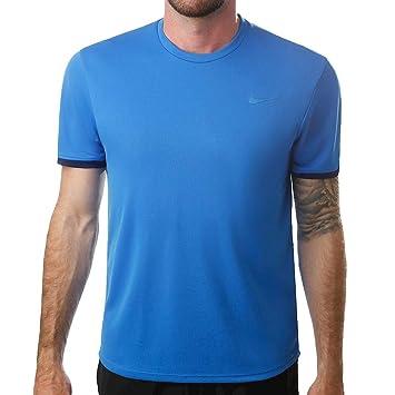 Nike M Nkct Dry Top SS Clrblk T-Shirt, Hombre: Amazon.es ...