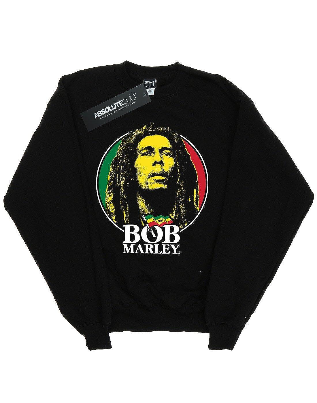 Bob Marley niños Logo Badge Camisa De Entrenamiento: Amazon.es: Ropa y accesorios