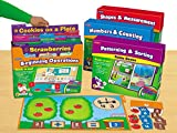 Lakeshore Early Math File Folder Game Libraries - Pre K-K - Complete Set