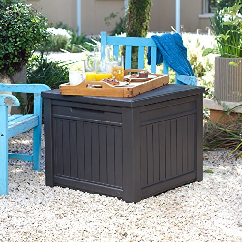 Buy patio cushion storage container
