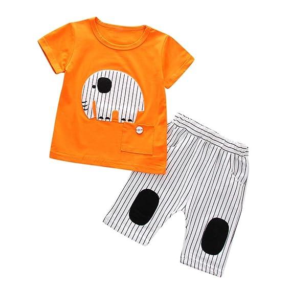 Baiomawzh Ropa Bebe Niño Verano-Pijamas De Dormir Camisa Camiseta ...