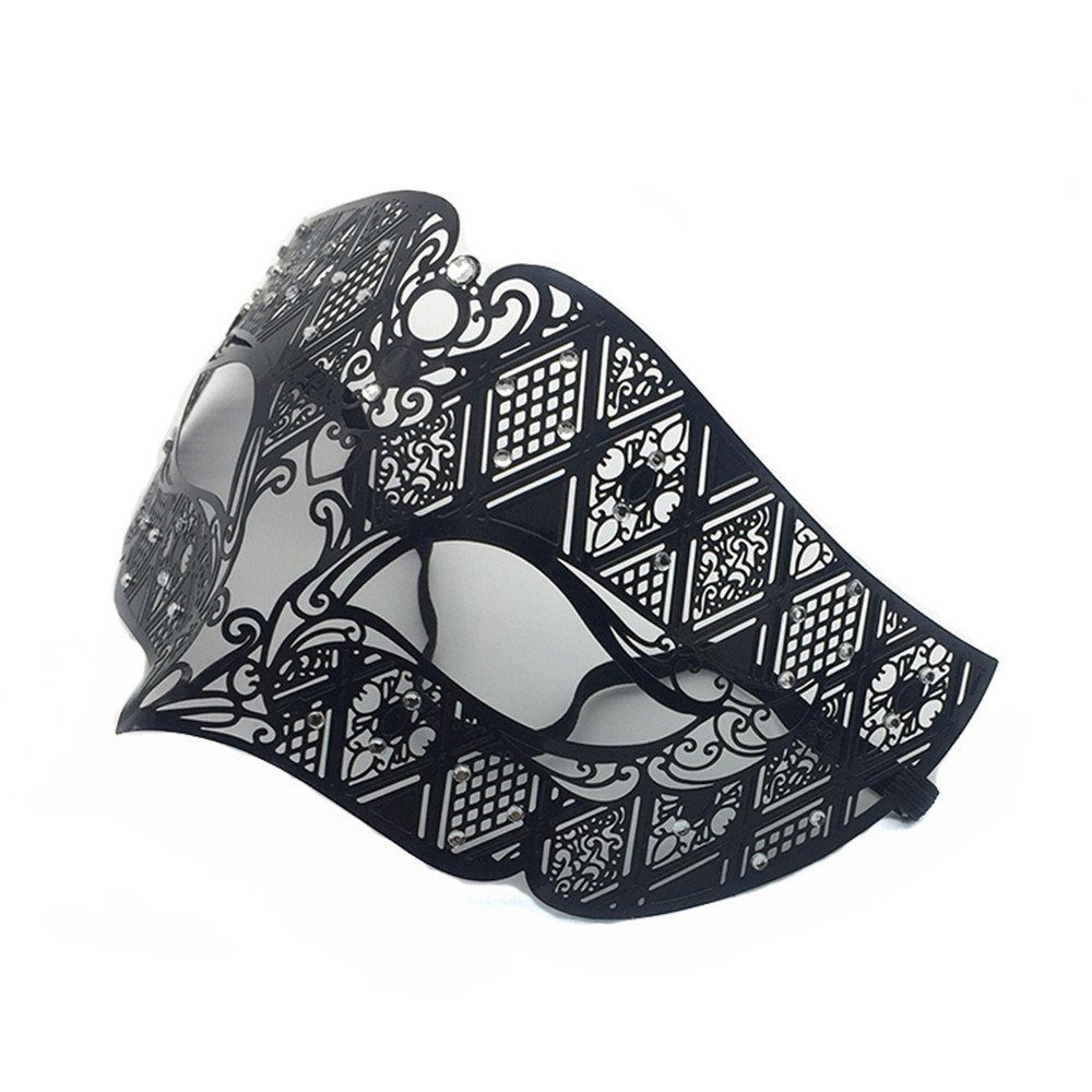 Amazon.com: Face mask Shield Veil Guard Screen Domino False ...