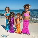 Fin Fun Little Girls Toddler Costume Mermaid Swim