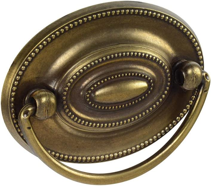 "Knob Deals #1165-2-1/4"" (57mm) Center to Center Drawer Pull, Antique English"