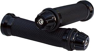 "Motorcycle CNC Black 7/8"" Handlebar Hand Grips Gel for 2014 Kawasaki Ninja 300 EX300B ABS"