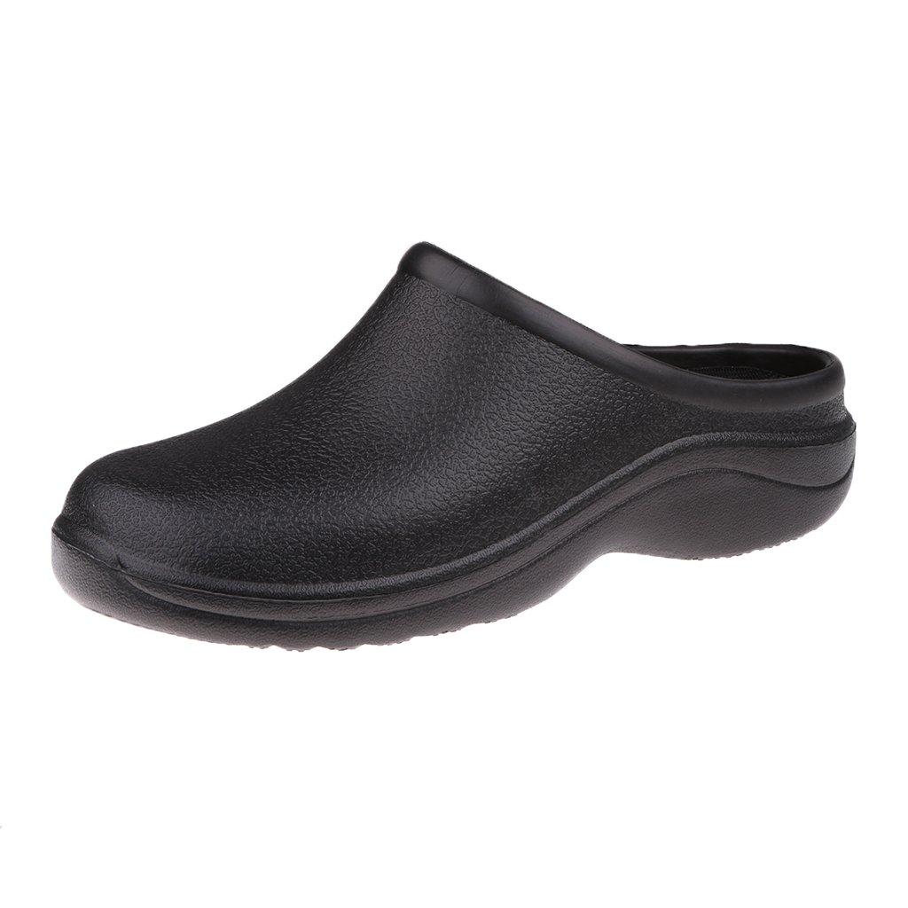 MagiDeal Paire De Chaussures Sabots Sans Bretelles Antidérapante pour Hommes Femme