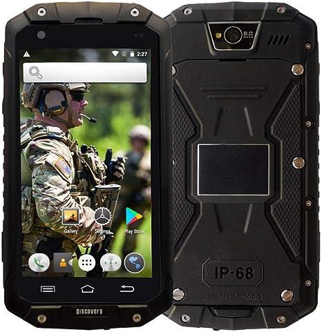 Smartphone Robusto, Discovery V9 3G Dual SIM móvil Resistente al ...