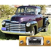 1947-1953 Chevy Truck USA-630 II High Power 300 watt AM FM Car Stereo/Radio with iPod Docking Cable
