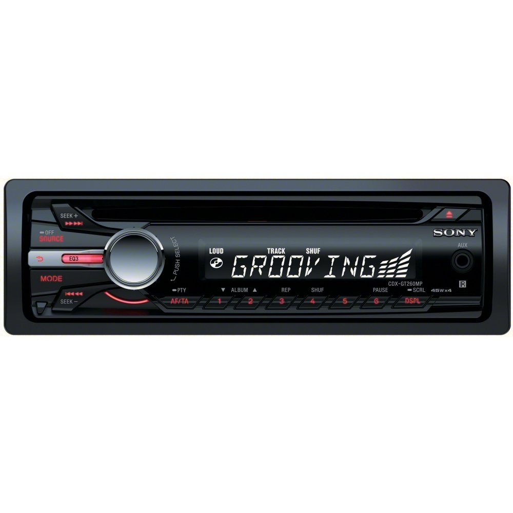 61YA6Kw0waL._SL1000_ amazon com sony cdxgt260mp cd car stereo receiver (discontinued sony cdx-gt620ip wiring diagram at crackthecode.co