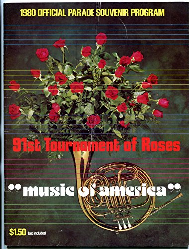 91th Tournament of Roses Parade Program 1980 Rose Bowl NCAA