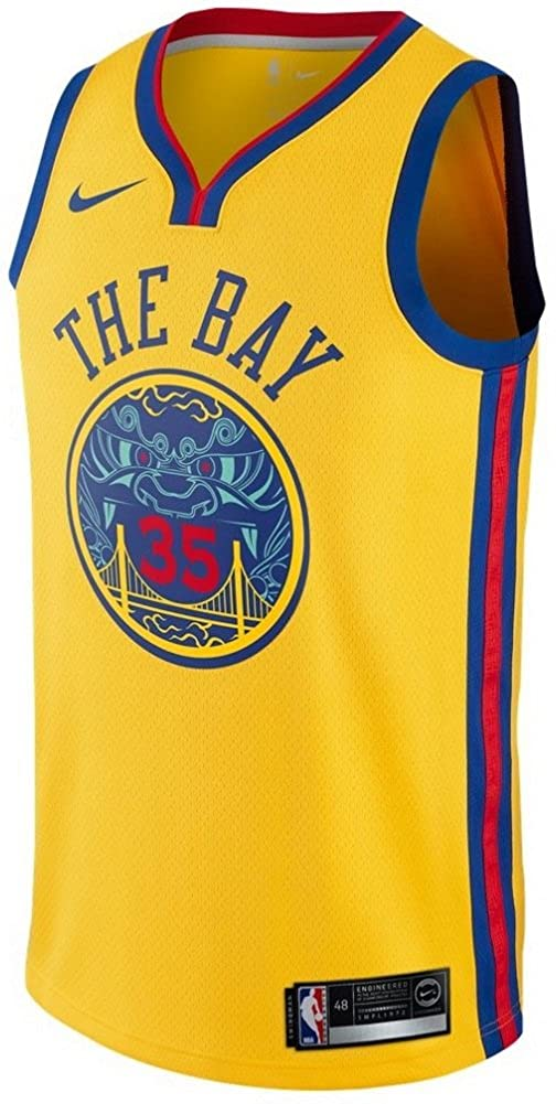 promo code e227a f5c64 Amazon.com: NIKE Men's Kevin Durant NBA City Edition Gold ...