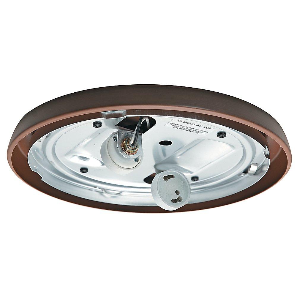 Casablanca Fan Company 99256 CFL Low Profile Fitter, Maiden Bronze