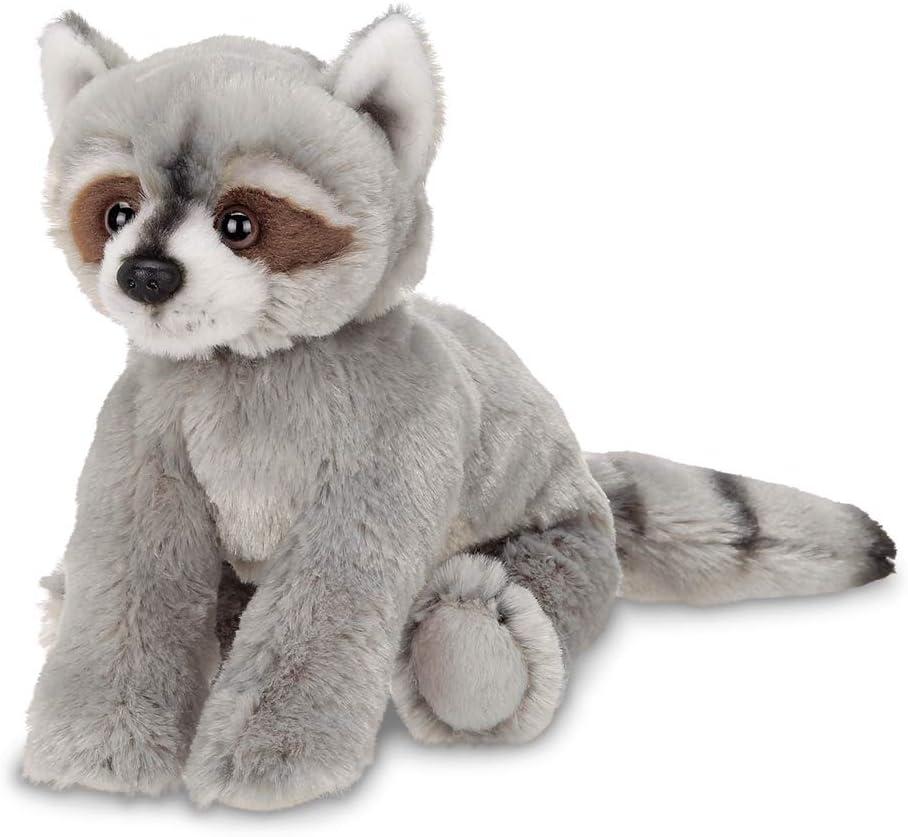 Bearington Lil' Rocko Small Plush Stuffed Animal Raccoon, 7 inches