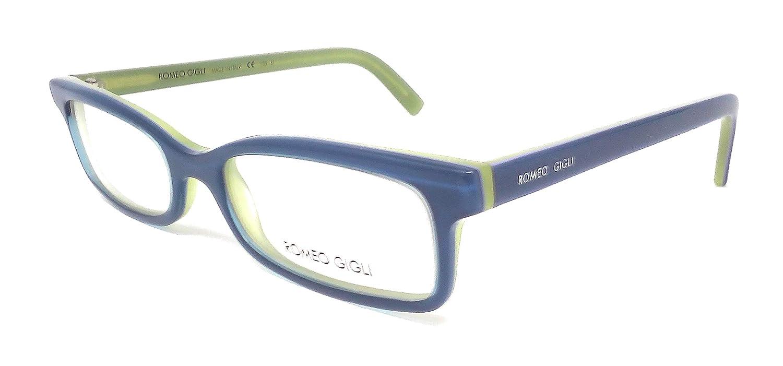 Romeo Gigli Damen Sonnenbrille Azzurro E Verde 50: